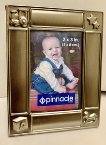 Pewter Finished Baby Frame