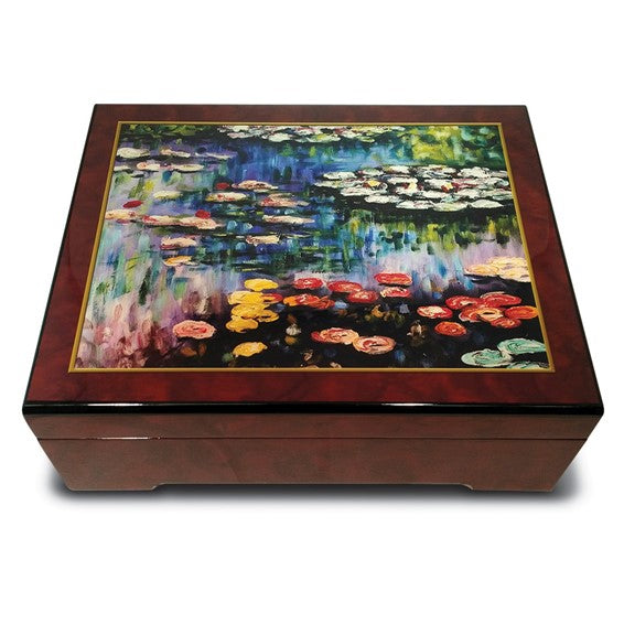 Monet Water Lilies Music Box