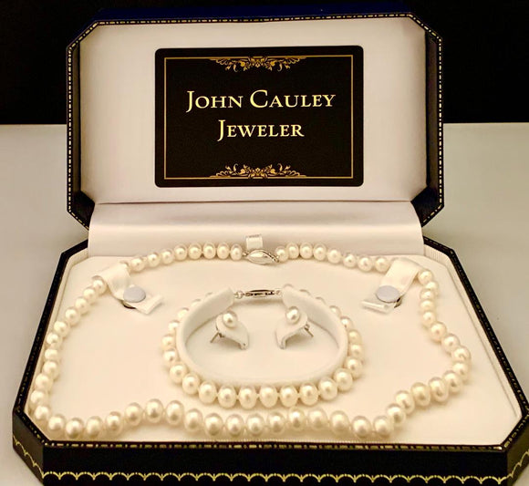 6-7 MM Freshwater Pearl Set
