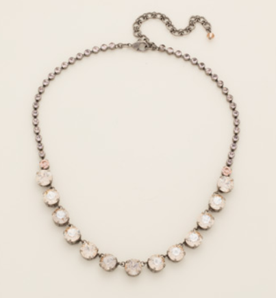Repeating Rivoli Classic Line Necklace