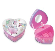 Children's Musical Magical Friends Heart Shaped Jewelry Box