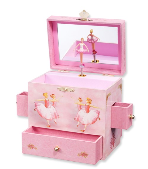Children's Ballerina Musical Jewelry Box