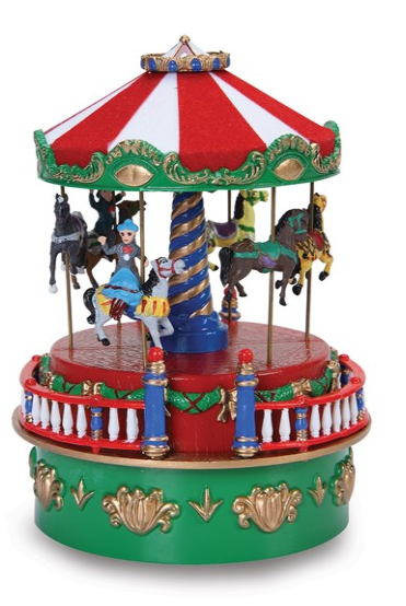 Mini Carnival Carousel Music Box