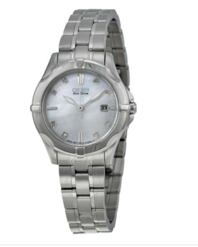 Citizen Ladies Eco Drive Diamond Accent Watch