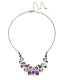 Nested Pear Statement Necklace