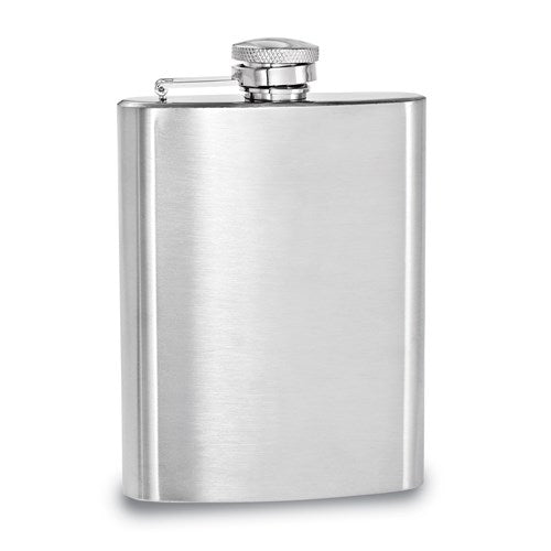 Brushed Stainless Steel 7oz Hip Flask