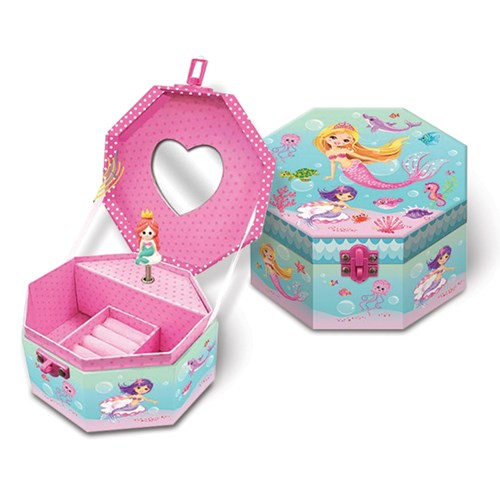 Children's Musical Mermaid Jewelry Box