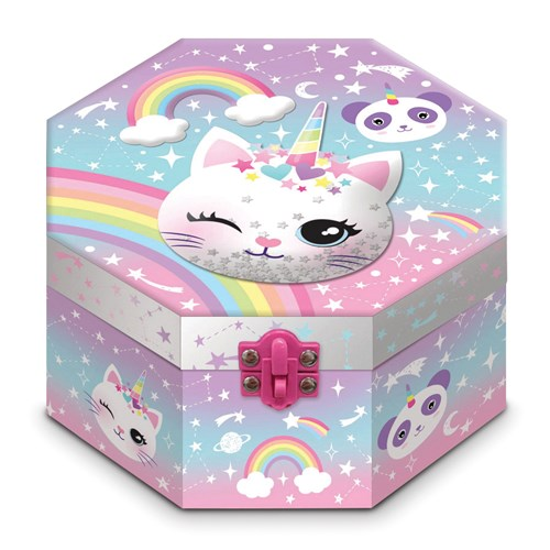 Children's Musical Caticorn Jewelry Box