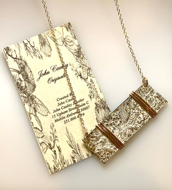 John Cauley Original Bar Necklace