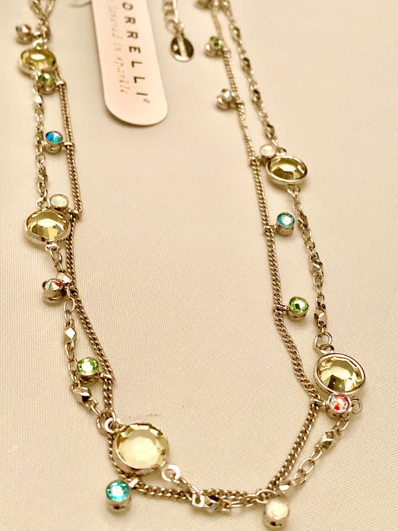 Sorrelli Dewdrop Layered Necklace
