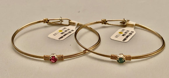 "Earth Grace ""Princess Solitaire"" Bracelet"