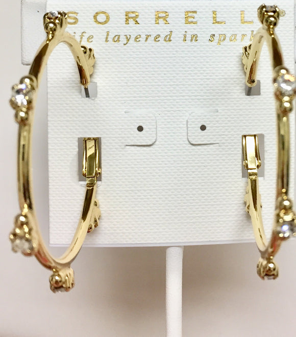Sorrelli Circlet Hoop Earrings