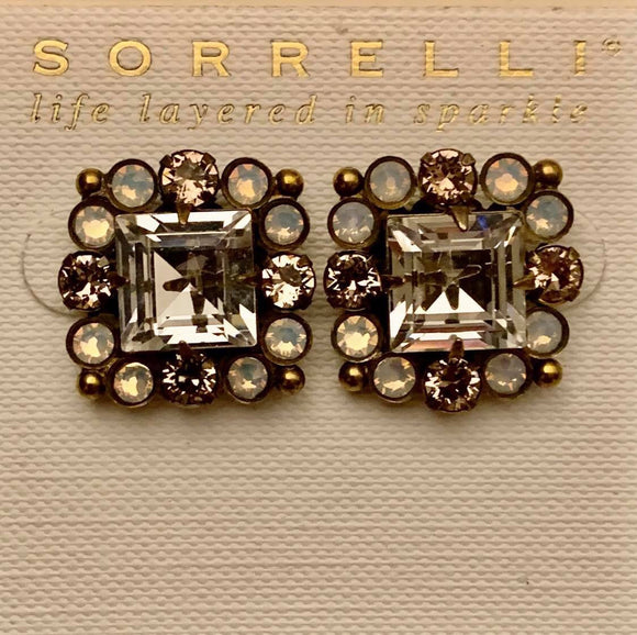 Sorrelli Oxeye Daisy Earrings