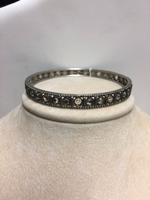 Sorrelli Metal/Crystal Bangle Bracelet
