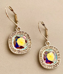 John Cauley Original Swarovski Crystal Earrings