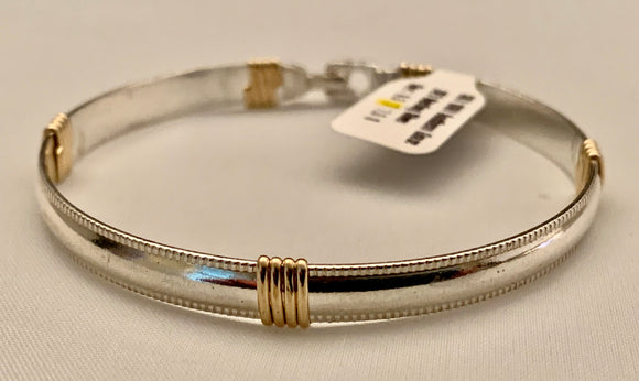 "Earth Grace Sterling Silver ""Southern Grace"" Bracelet"