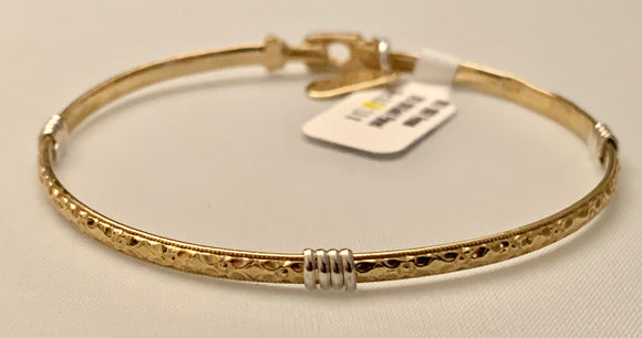 "Earth Grace Gold Over Sterling ""Venus"" Bracelet"