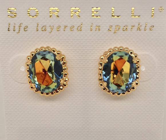 Sorrelli Classic Oval Stud Earrings