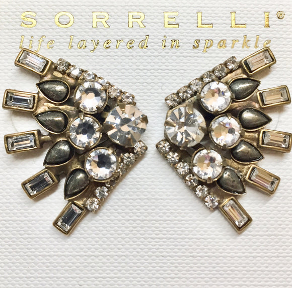 Sorrelli Crystal Fan Earrings