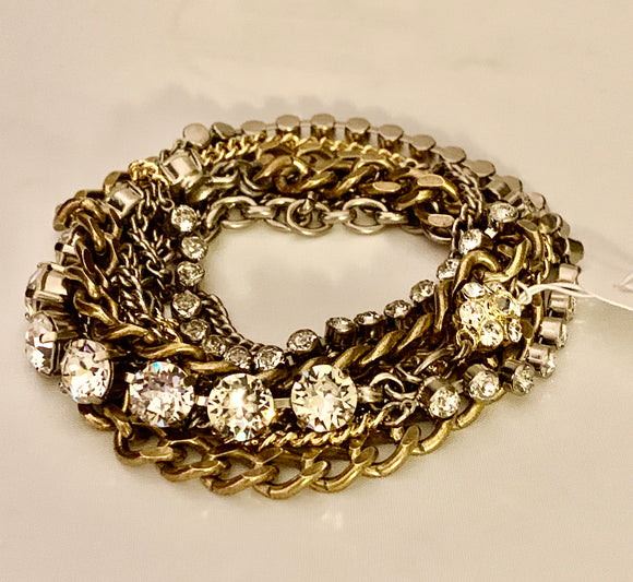 Sorrelli Crystal Necklace/Bracelet