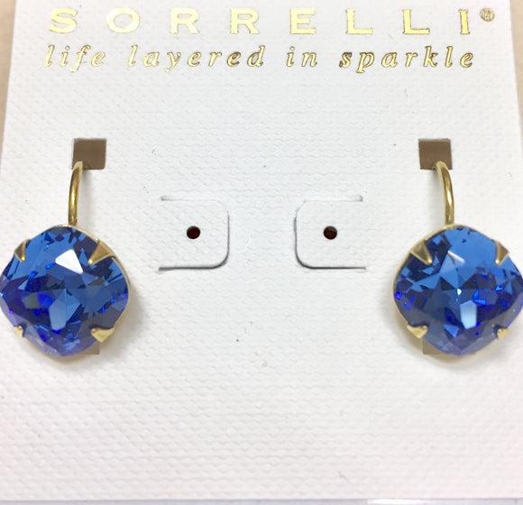 Sorrelli Cushion Cut Earrings
