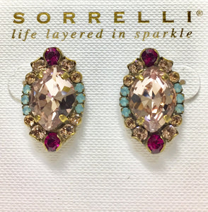 Sorrelli Eustoma Stud Earrings