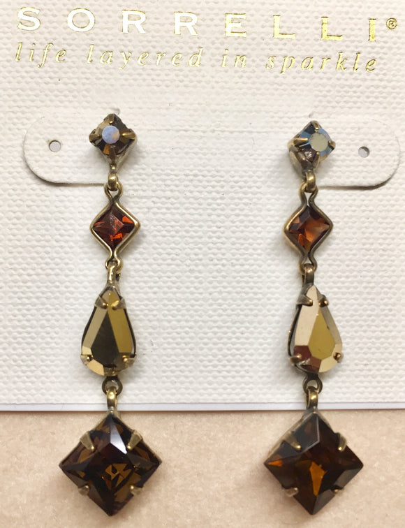 Sorrelli Geometric Drop Earrings