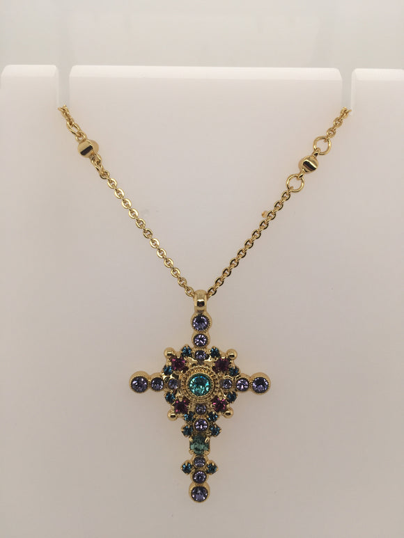 Sorrelli Celestial Cross Pendant Necklace