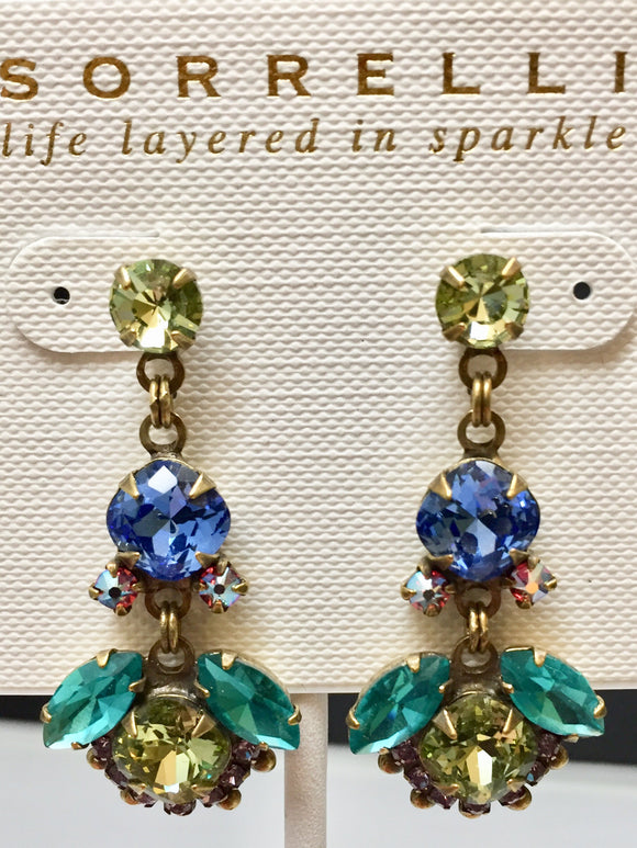 Sorrelli California Poppy Earrings