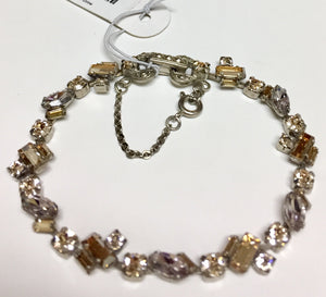 Sorrelli Multi Shapes Line Bracelet