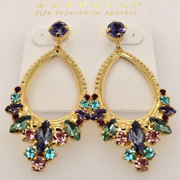Noveau Navette Statement Earrings