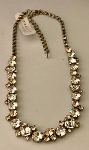 Sorrelli Glittering Multi-cut Crystal Necklace