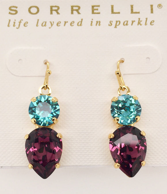 Sorrelli Brilliant Teardrop Dangle Earrings