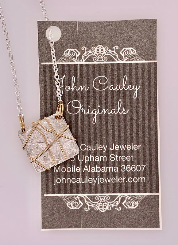 John Cauley Original Sterling Pendant