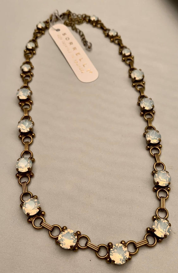 Sorrelli Mini Eyelet Line Necklace