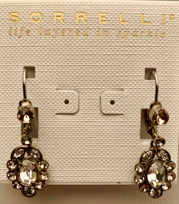 Sorrelli Crystal Cluster Drop Earrings