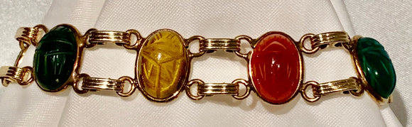 ESTATE SCARAB BRACELET