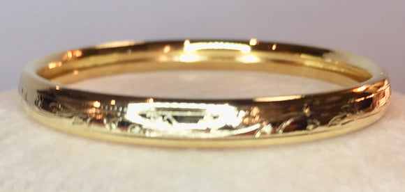 Gold Filled Infant Bangle Bracelet