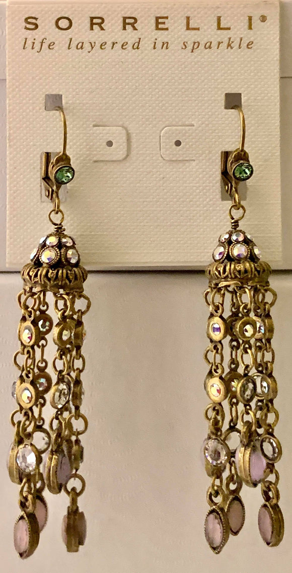 Sorrelli Crystal Tassel Earrings