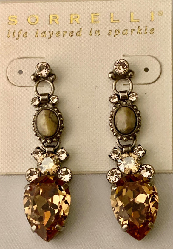 Sorrelli Gilded Glamour Statement Earrings