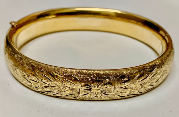 Estate Gold Filled Bangle