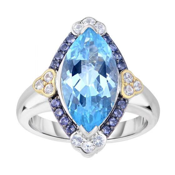 Phillip Gavriel Sky Blue Topaz Ring