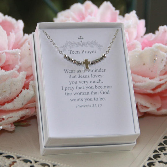 Teen Prayer Necklace