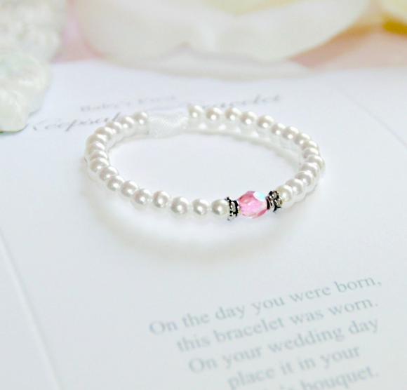 First Bracelet/Bride Keepsake Infant First Bracelet-Top Seller