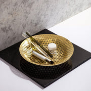 PUSH - BOWL BRASS