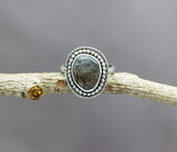 Super Seven Quartz Sterling Silver Ring