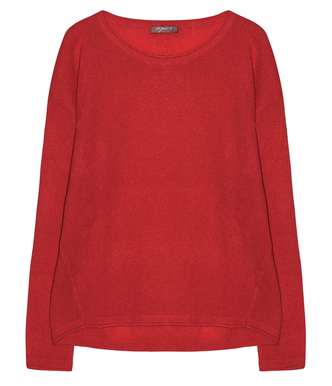 10per3 cashmere sweater round neck