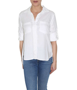 Bella Dahl Bluse Split Back Button Down