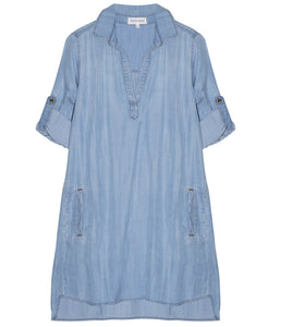 Bella Dahl Kleid a Line Shirt Dress Vintage Wash