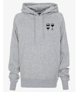 Gossengold AM Coffee PM Wine Hoodie